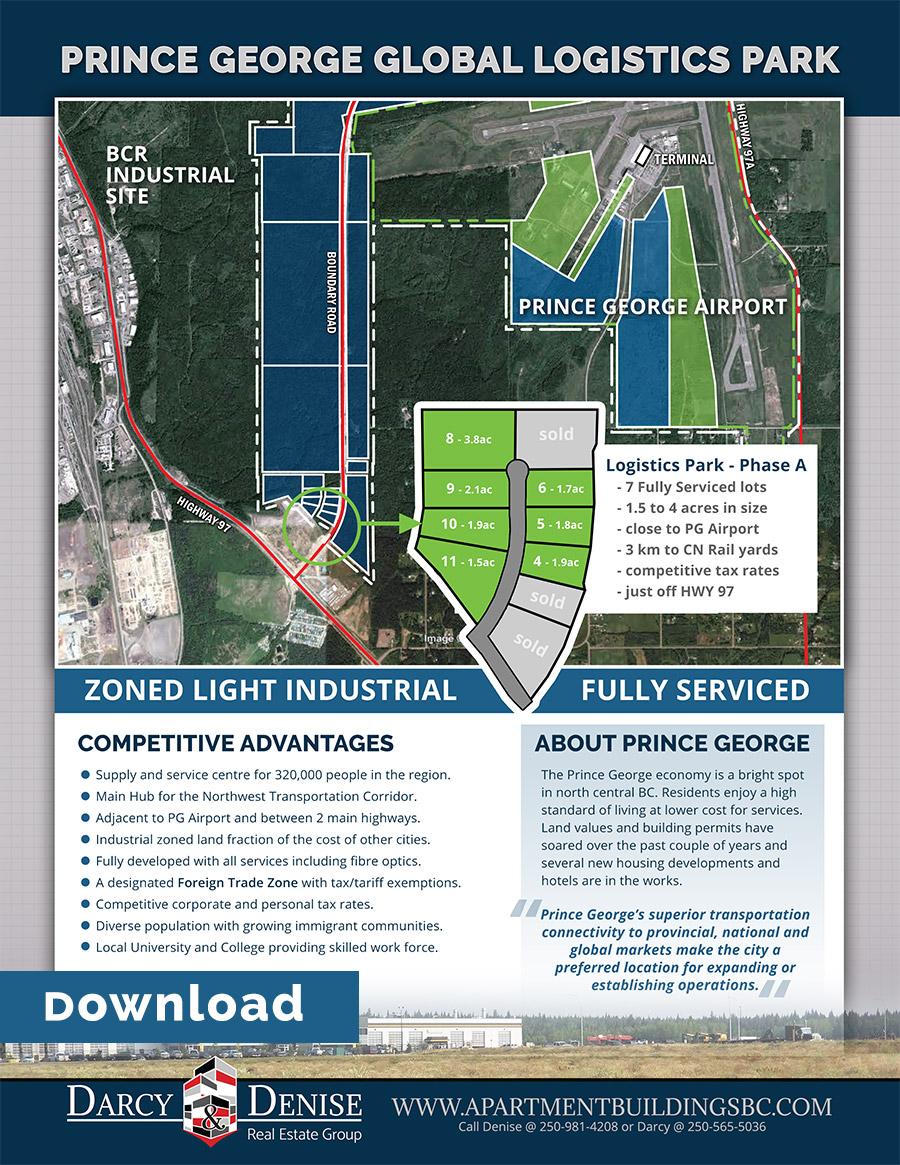 Global Logistic Park Flyer